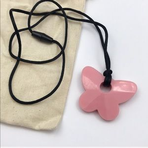 Jewelry - Baby Teething Rubber Butterfly Necklace